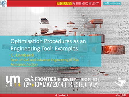 Optimisation Procedures As An Engineering Tool Examples Www Esteco Com