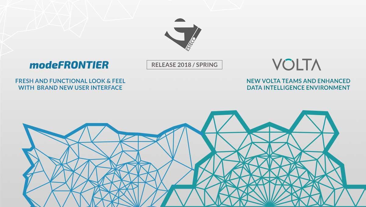 ESTECO VOLTA modeFRONTIER Release 2018 Spring